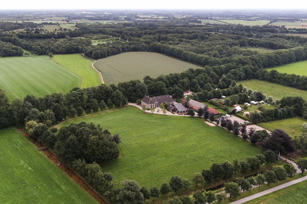 Overzichtsfoto vanuit de lucht.