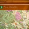 Op het informatiebord vind je meer informatie, zoals tips van de boswachter.
