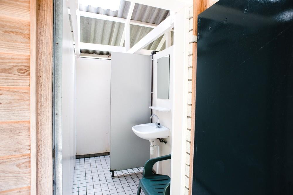 Schoon en net sanitair.