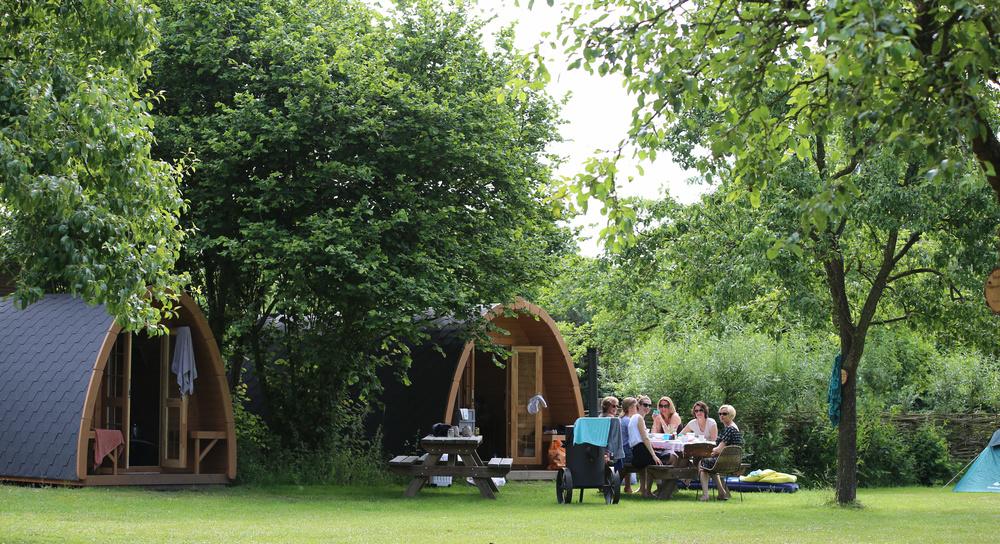 De Camping Pod's Basic & Comfort, Camping de Haverkamp.