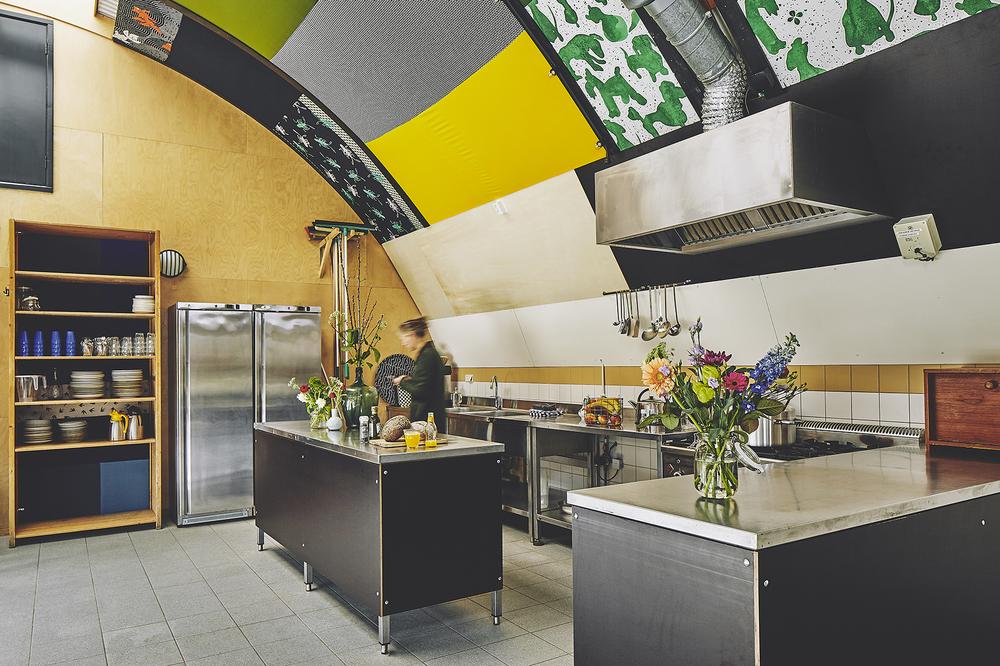 keuken in de binnenruimte
