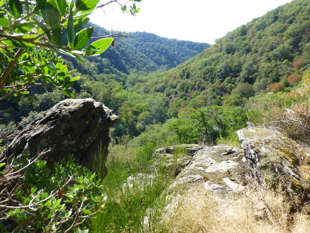Een prachtige vergezichten in de heuvels