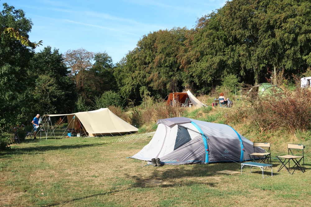 Nieuwe tentenvelden
