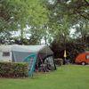 caravans op de camping