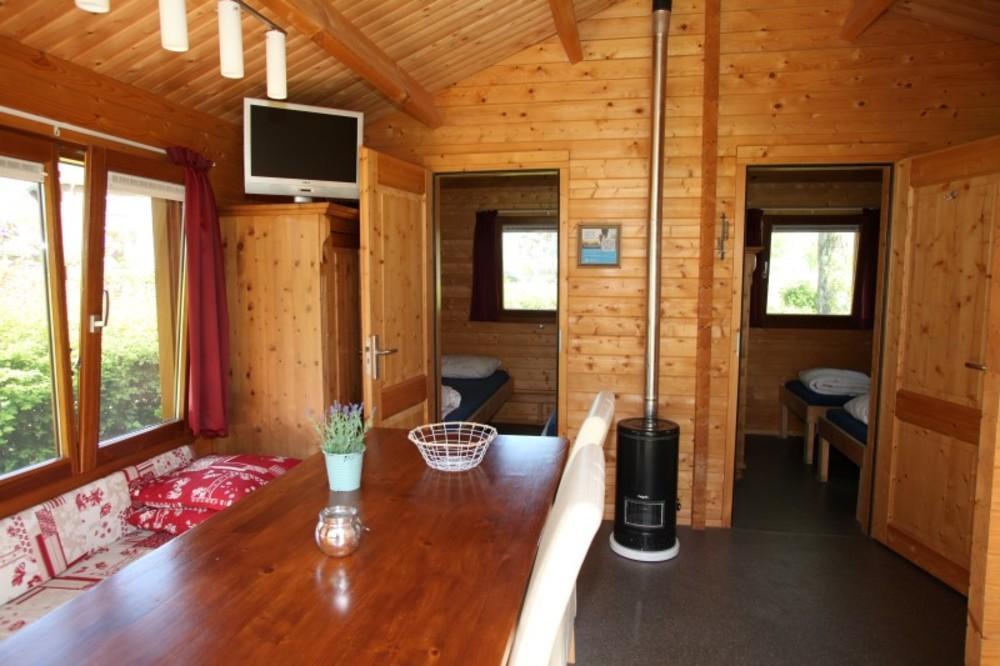 Trekkershut met 2 slaapkamers