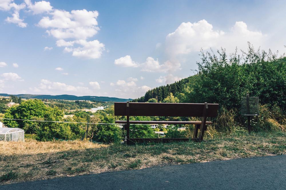 Uitzicht over het dal