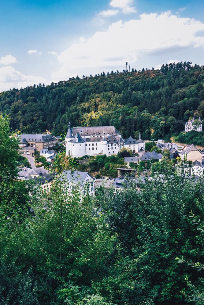 Het stadje Clervaux