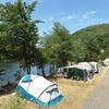 Campingterrein aan het water