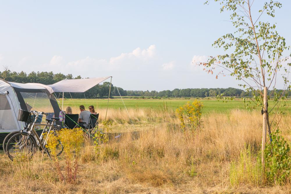Uitzicht over de landerijen