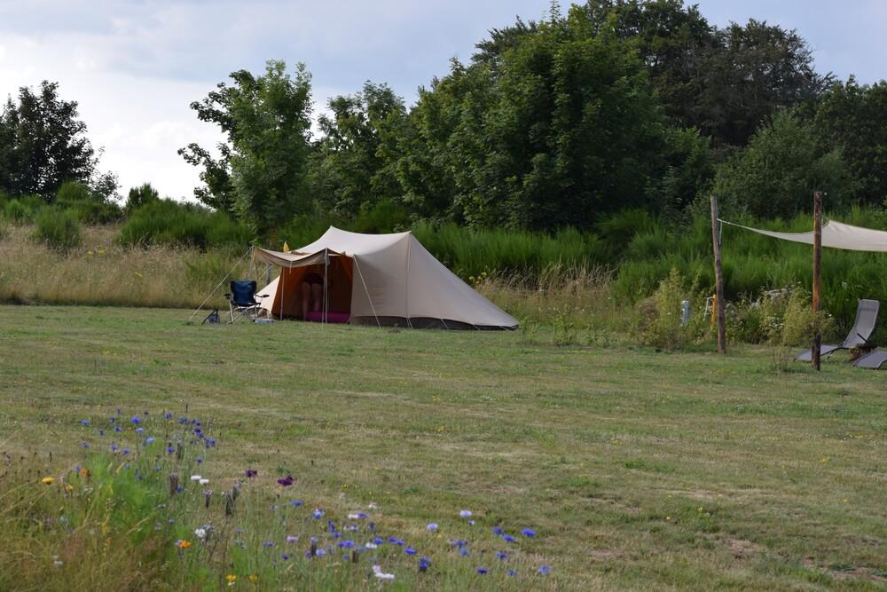 Ruime kampeerplek
