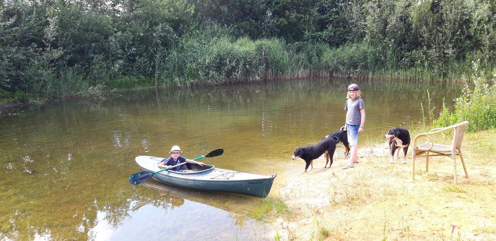 kano in de paddenpoel