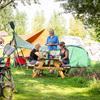 Picknicktafel voor de tent