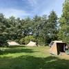 Beschutte plekken voor tenten