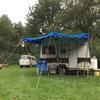 tentkampeerders en kleinere caravans en kampeerbusjes welkom